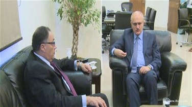 Minister Hassan Khalil meets with World Bank's vice president,...