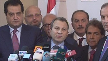 FM Bassil stresses Lebanon's keenness on maintaining relations...