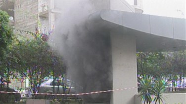 Fire erupts again at Beirut Mall