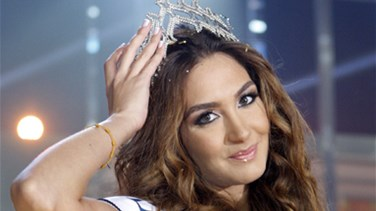 Rina Chibani crowned Miss Lebanon 2012, twin sister 1st runner up