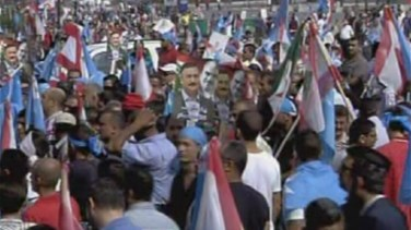 Clashes erupt after Lebanon bids farewell to Gen. Hassan and companion