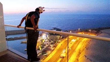 Brazilian tourist base jumps from Beirut hotel
