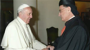 Patriarch Rai meets with Pope Francis