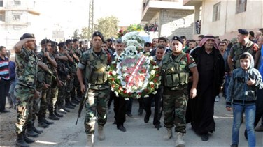 Arsal bids farewell to Army Sergeant Ezzeddine