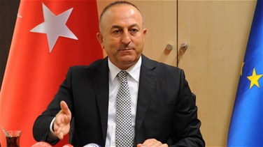 Turkish foreign minister visits Iran, meets Rouhani
