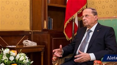 President Aoun hopes agreement over electoral law will be reached soon