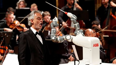 VIDEO - Robot Replaces Orchestra Conductor At Italy Opera