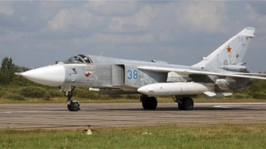 Russian military jet crashes on takeoff in Syria, crew killed - agencies