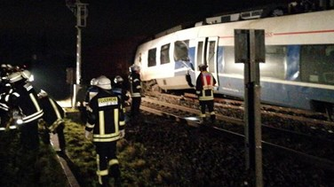 About 50 injured in Germany as trains collide near Dusseldorf