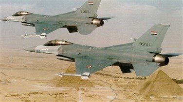 Egyptian air force pounds Sinai militants - military