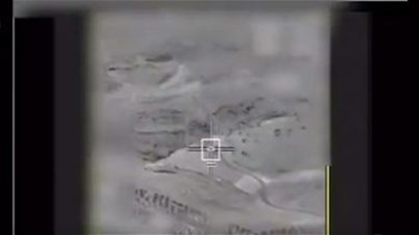 [VIDEO] Israeli military releases footage of aerial targeting in Syria