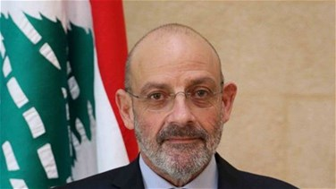 Minister al-Sarraf stresses Lebanon's rejection to use of its airspace to attack Syria