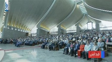 REPORT: Patriarch Rai presides over mass in Bkerke, salutes newly elected 76 MPs