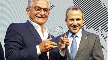 Salim Sfeir awarded the Lebanese Diaspora Energy Award