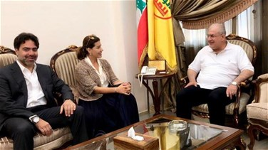 Yaacoubian visits Raad, calls for granting women ministerial portfolios