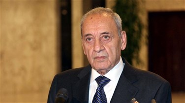 Speaker Berri meets with French presidential envoy