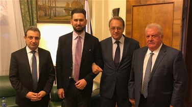 Bogdanov, Taymour Jumblatt hold meeting, stress need to form cabinet as soon as possible