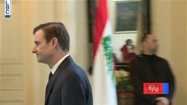 Southern borders, economy focus of Aoun-Hale meeting