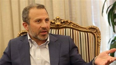 Bassil to his Libyan counterpart: We regret Libya's boycott of Beirut summit