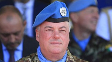 UNIFIL Force Commander inspects area facing Kfarkala