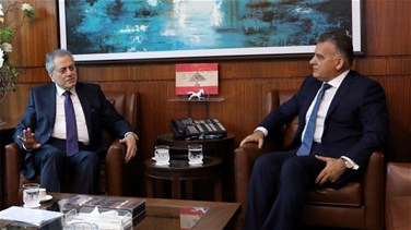 Maj. Gen. Ibrahim meets with Syrian ambassador, discussed Syrian refugees' affairs