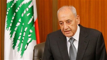 Berri to Del Col: Lebanon is ready to demarcate Lebanese maritime border and economic zone