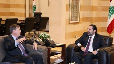 Satterfield meets with Hariri at Grand Serail