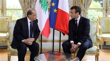 Macron sends cable of condolences to Aoun