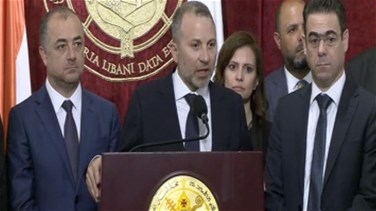 Bassil from Bkerke: Insulting Bkerke and the Lebanese indicates an ethical problem in the country