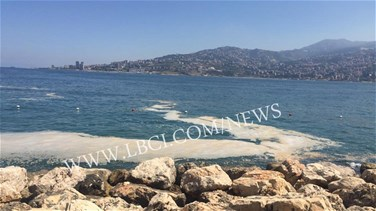 Unidentified material pollutes Jounieh's shore-[PHOTOS+VIDEO]