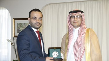 Minister Daoud meets with Saudi ambassador, discusses Lebanese-Saudi ties