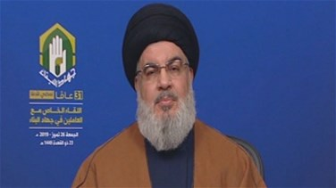 Nasrallah calls for setting date for a cabinet session and discussing Qabrchmoun case