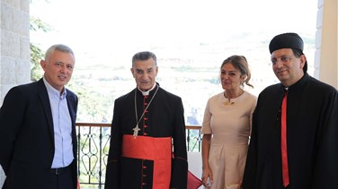 Patriarch Rai, Frangieh meet over latest economic and political developments