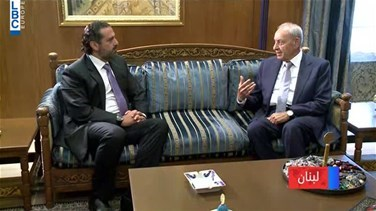 Berri meets Hariri over latest developments and Cabinet's sessions