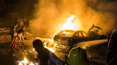Nineteen dead in explosion due to Cairo car crash - ministry
