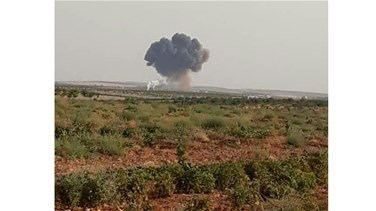 Syrian government warplane crashes after being targeted by rebels -monitor