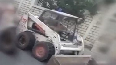 ISF fines father of a 6-year-old driving a bobcat-[VIDEO]