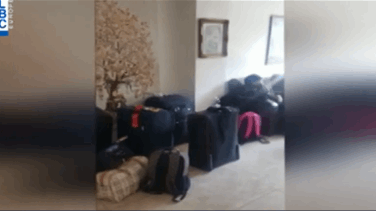 171 Stranded Lebanese tourists start returning home from Turkey