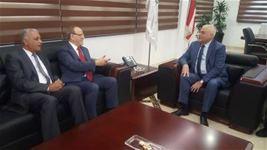 Minister Jabaq meets with Iraqi counterpart, stresses need to boost cooperation in health sector