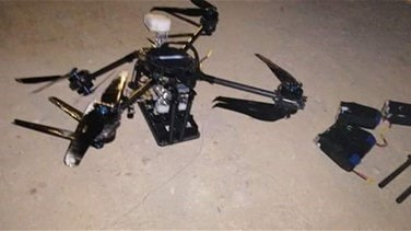 Hezbollah hands two crashed drones to Lebanese army