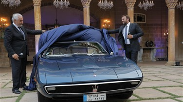 G.Bazerji & Fils and Maserati celebrate 50 Years of partnership in Lebanon
