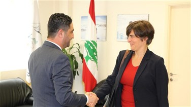 Minister al-Gharib meets with Canadian ambassador