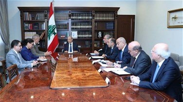 President Aoun meets with UN's Kubis, discusses situation in South Lebanon
