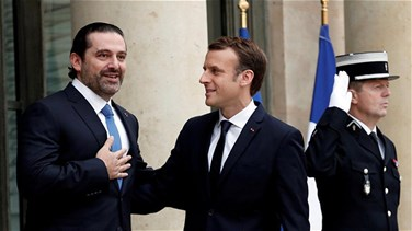 Macron stresses France's commitment to Lebanon's stability and security during phone call with Hariri
