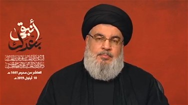 Nasrallah: There are no red lines when it comes to defending Lebanon against Israel