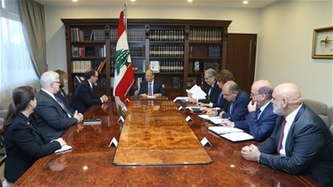 Aoun calls on Washington to help Lebanon facilitate return of Syrian refugees
