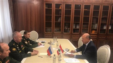Hariri's Special Envoy meets Russian Deputy Minister of Defense