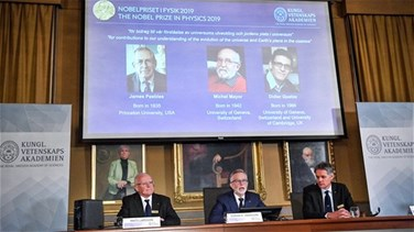 Peebles, Mayor, Queloz win Nobel physics prize for discoveries in astronomy