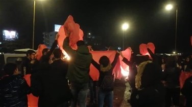 Lanterns released into the sky in Zahle (Video)