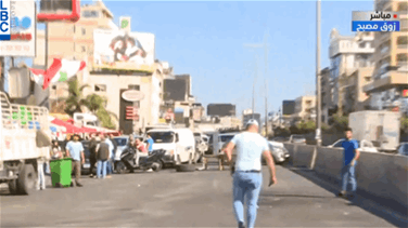 Zouk Mosbeh highway reopened in both directions (Video)